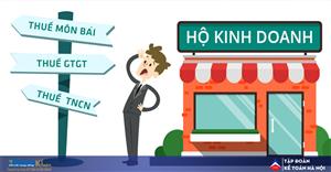 #1 Cách tính thuế cho hộ kinh doanh cá thể và cửa hàng kinh doanh