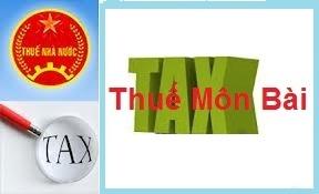 Hướng dẫn lập tờ khai thuế môn bài đối với chi nhánh khác tỉnh