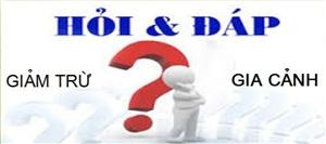 SINH CON THỨ 3 CÓ ĐƯỢC TÍNH GIẢM TRỪ GIA CẢNH KHÔNG?