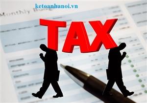 Vai trò của thuế nhà thầu