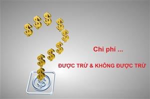 Các khoản chi phí được trừ mới nhất khi tính thuế thu nhập doanh nghiệp