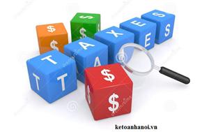 Kê khai thuế GTGT đối với cơ sở trực thuộc của doanh nghiệp