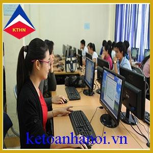 Khóa học thực hành Kế Toán - Thuế cấp tốc mọi trình độ chất lượng nhất tại Hà Nội