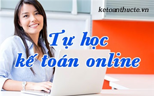 Học kế toán nội bộ online