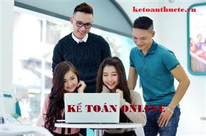 Học kế toán misa online - Kế toán thực tế