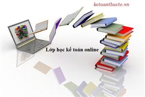 Học kế toán máy online - Kế toán thực tế
