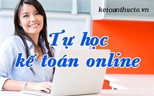 Học kế toán online tại nhà chỉ với 1000k tại Kế Toán Hà Nội