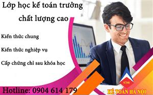 Tuyển sinh lớp kế toán trưởng tại Bắc Ninh