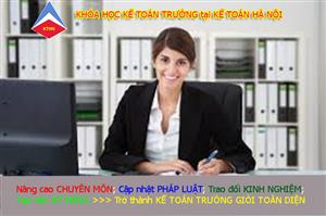 Học chứng chỉ kế toán trưởng cấp tốc online