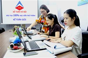 Địa chỉ dạy kế toán tổng hợp thực hành trực tuyến