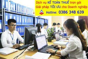 Dịch vụ khai báo thuế tại quận Dương Kinh Hải Phòng Chuyên nghiệp Uy tín