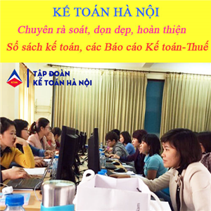 Dịch vụ làm lại sổ sách kế toán tại Hà Đông - Quyết toán thuế