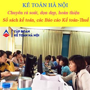 Dịch vụ hoàn thiện sổ sách kế toán tại Long Biên