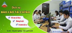 Công ty làm dịch vụ báo cáo tài chính tại Long Biên