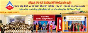 Công ty làm dịch vụ báo cáo tài chính tại Vệ An Bắc Ninh