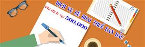 Dịch vụ kê khai thuế chuyên nghiệp