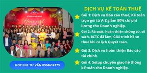 Dịch vụ kế toán thuế tại Phú Xuyên chuyên nghiệp, uy tín